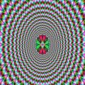 Pulsating Optical Illusion